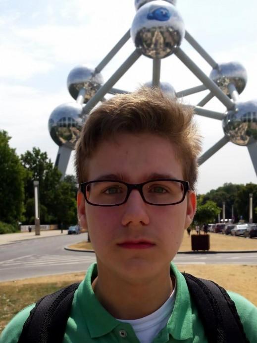 El llastrín, de ascendencia, Sergio Santos Villar, segundo clasificado en la Olimpiada Matemática