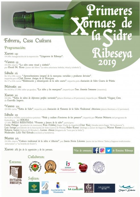 Primeres Xornaes de la Sidre de Ribeseya 2019