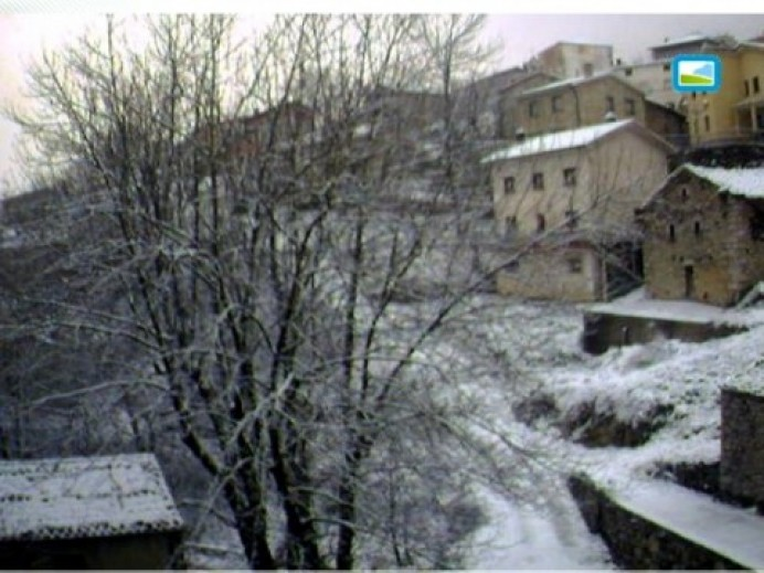 Aviso de fenómenos meteorológicos adversos por nieve
