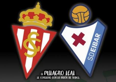 Real Sporting - Eibar