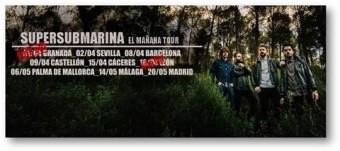 Supersubmarina, el grupo que más actúa en el mundo hispano, de gira por España con el   EL MAÑANA TOUR