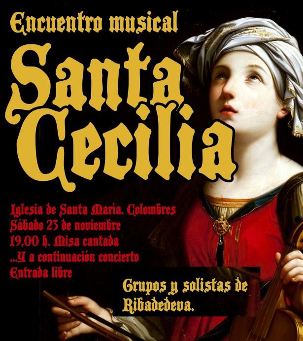 Encuentro musical con motivo de la celebración de Santa Cecilia, patrona de la música.