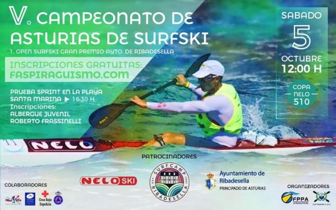 Campeonato de Asturias Surfski y I Open de Surfski Trofeo Ayuntamiento de Ribadesella - Copa Nelo 510