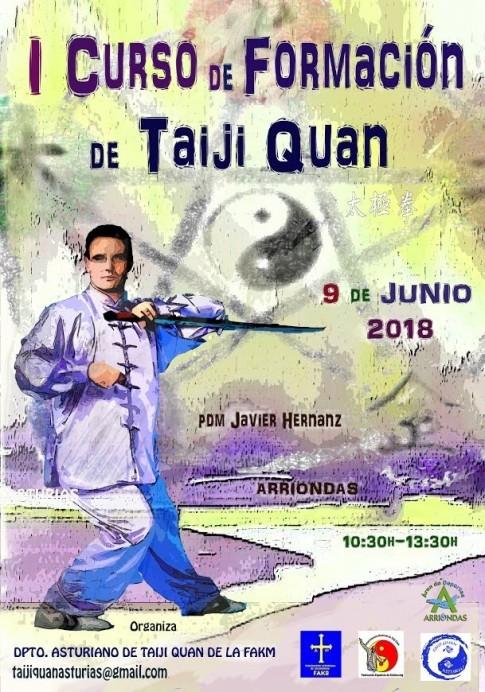 I Curso de formación de Taiji Quan