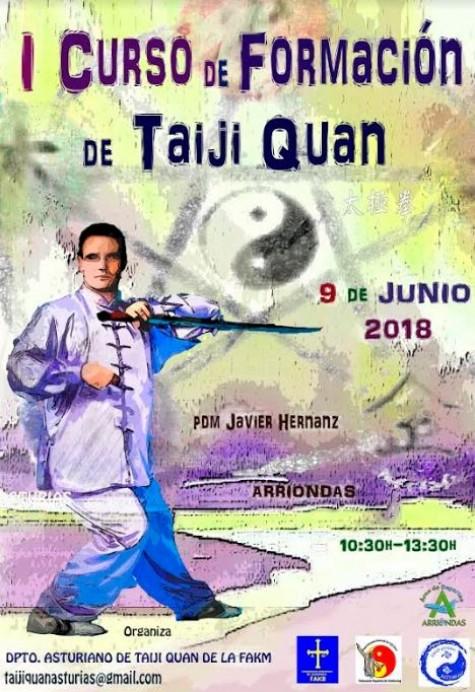 Programa Formación Taiji Quan en Asturias