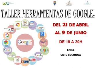 Taller Herramientas de Google en CDTL Colunga