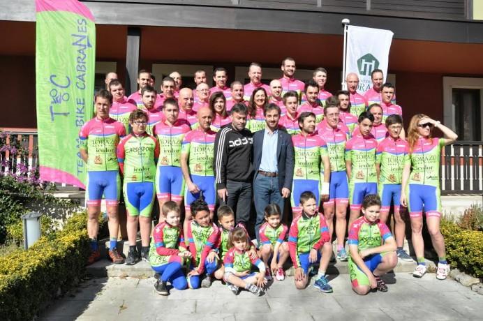 Presentación del equipo Team Bike Cabranes