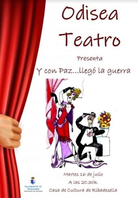 Teatro odisea en Ribadesella