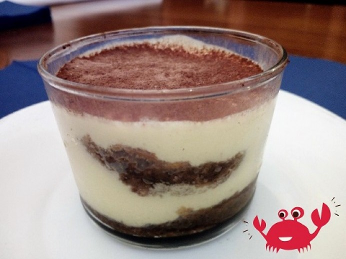 Tiramisú en vasitos