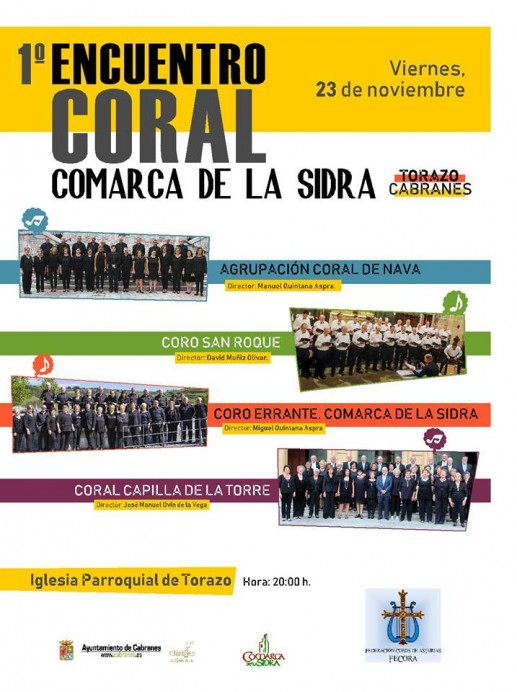 1º Encuentro Coral Comarca de la Sidra