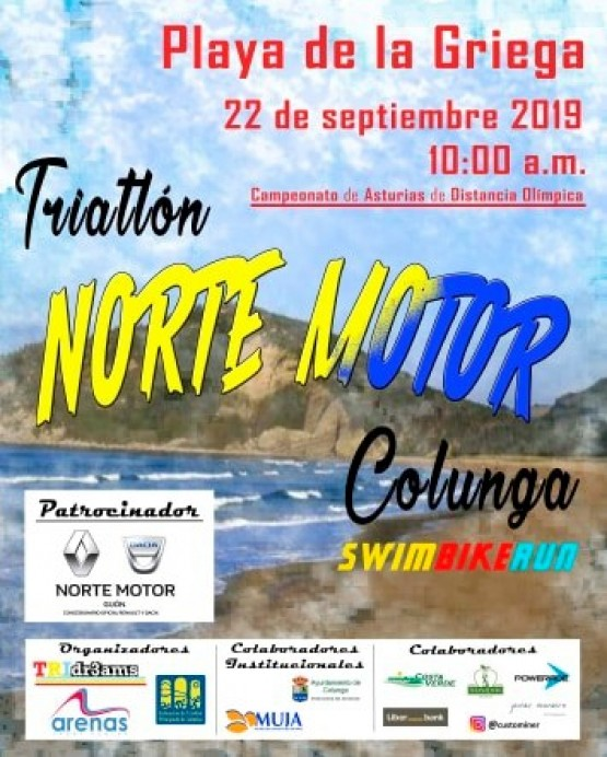 Triatlon Norte Motor Colunga