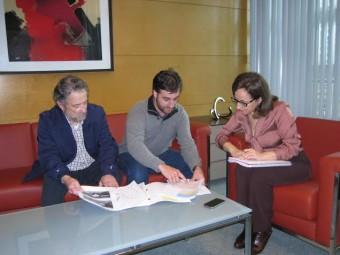 El Ayto de Cabranes presenta una propuesta a Fomento para mejorar la carretera de acceso a Santolaya