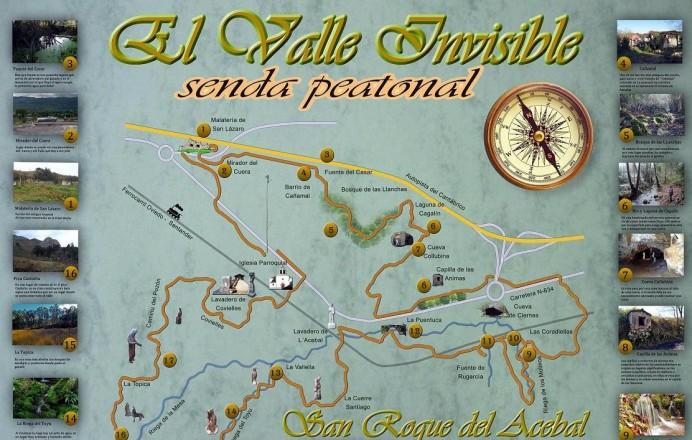 San Roque del Acebal inaugura Senda del Valle Invisible