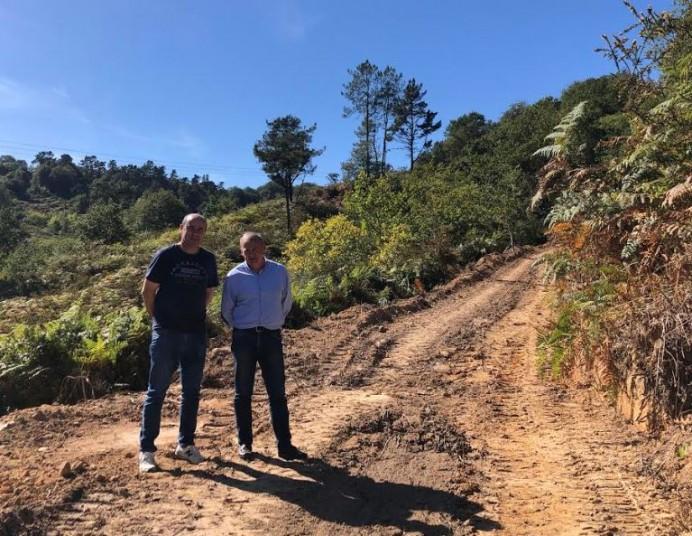Comienzan las obras de repoblación del monte de La Toya