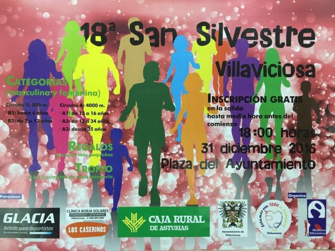 San Silvestre 2016 Villaviciosa
