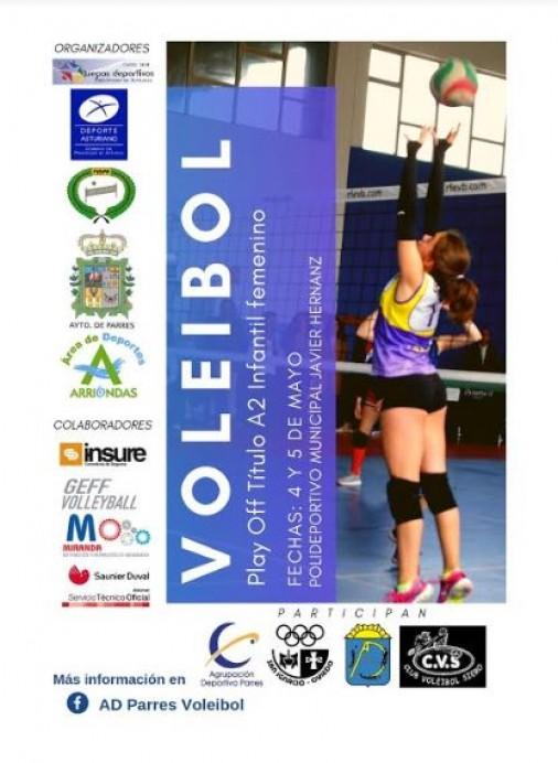 Fase final voleibol A-2 en Arriondas