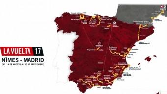 La Vuelta a España 2017: Recorrido 3D