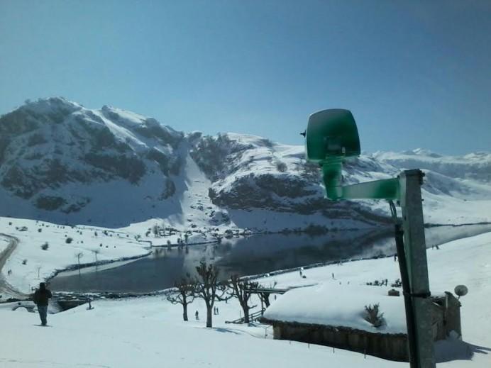 Nueva webcam desde los Lagos de Covadonga