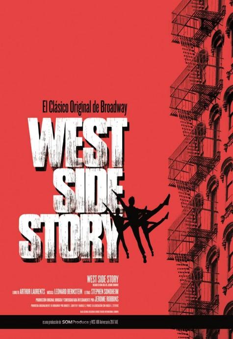 West Syde Story en el teatro de La Laboral. Hoy pase gráfico en horario de tarde