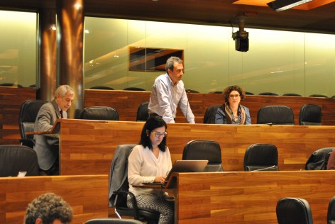 Zapico arranca al Gobierno la creación de una mesa para abordar la masificación del Sella